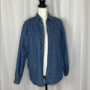 Wrangler Fleece Lined Denim Shirt Jacket